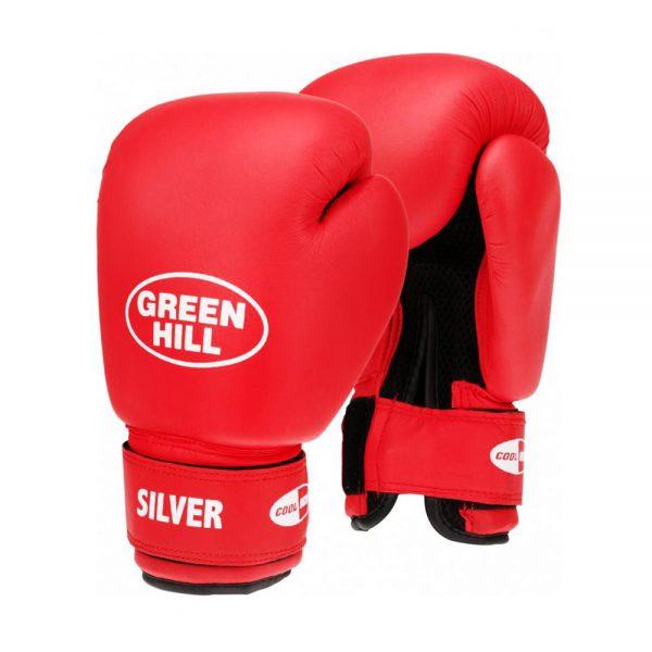 Перчатки боксерские тренировочные SILVER 1