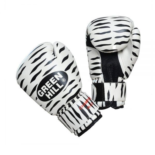 Перчатки боксерские ZEBRA тренировочные на липучке 1