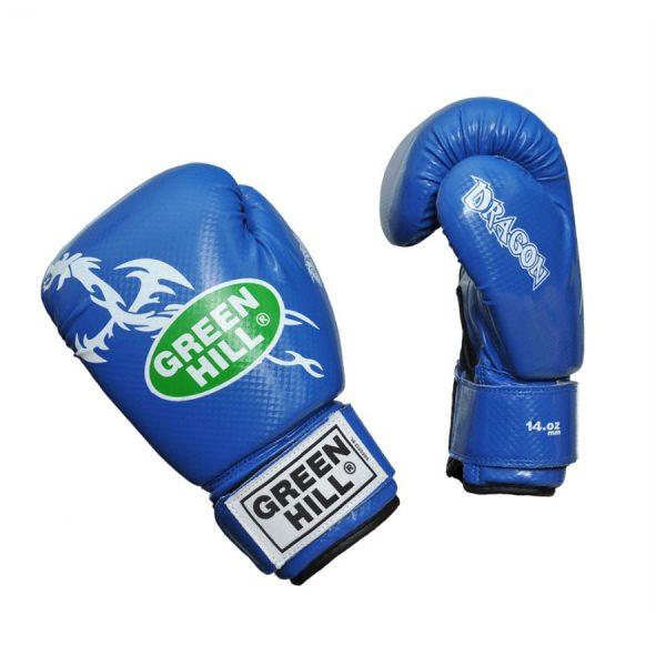 Стильные боксерские перчатки DRAGON для спаррингов и тренировок 1