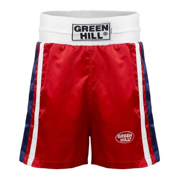 OLIMPIC Трусы боксерские (шорты для соревнований по боксу) - флаг России 1