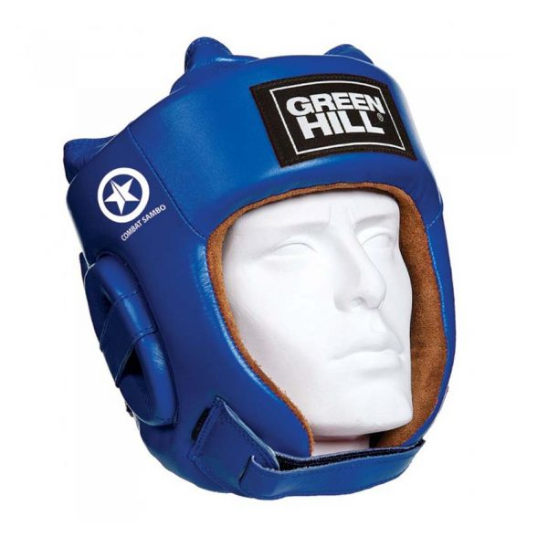 Шлем универсальный для бокса, кикбоксинга, боевого самбо FIVE STAR COMBAT SAMBO, натуральная кожа 1