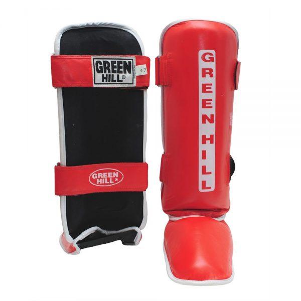 Защита голени и стопы CLASSIC накладки на ноги для карате и кикбоксинга 1