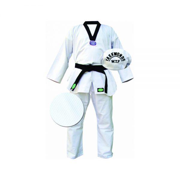 "Кимоно Taekwondo ""CLUB"" белое 1"