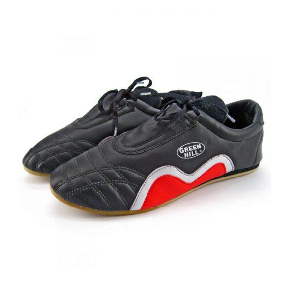 Туфли для таэквандо кожа черные 1