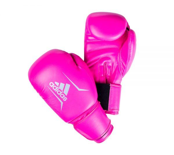 Тренировочные боксерские перчатки Adidas Speed 50 Boxing Gloves из искусственной кожи