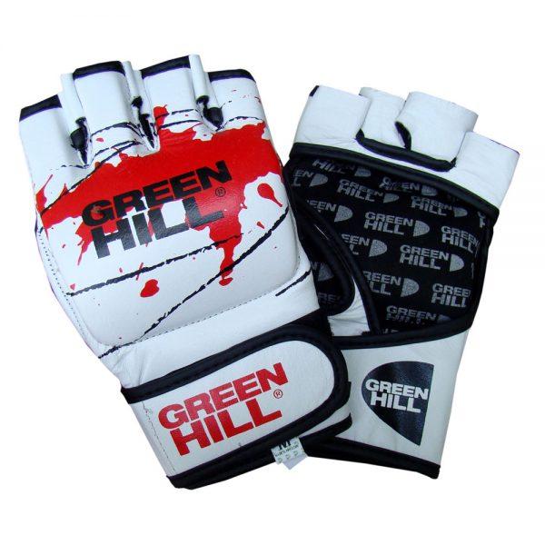 Перчатки MMA белые искусственная кожа