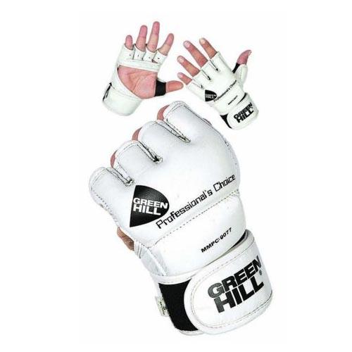 Перчатки MMA PROFESSIONAL CHOICE белые кожзаменитель 1