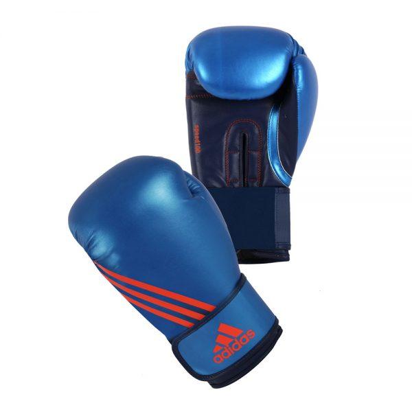 Перчатки боксёрские Speed 100 удобная посадка перчатки на руку и легкость в тренировке 1