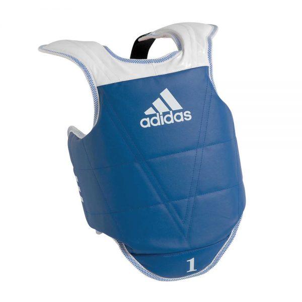 Защита корпуса двухсторонняя детская Kids Body Protector Reversible легкая и быстрая застежка на липучку со стороны спины 1