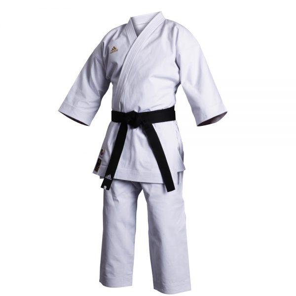 Кимоно для карате Champion European cut из 100% хлопка высшего качества, обработанного специальной антибактериальной пропиткой 1