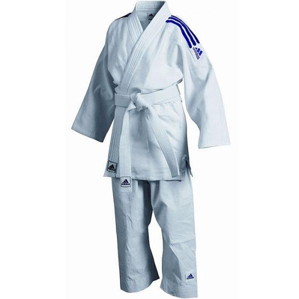 Кимоно для дзюдо детское Kids с «зерновой» структурой ткани комфорт во время тренировок 1