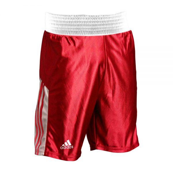 Шорты боксерские Amateur Boxing Shorts эффективно отводит влагу от тела во время тренировки широкий пояс 1