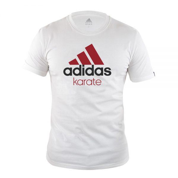 Футболка детская Community T-Shirt KARATE Kids хлопковый трикотаж эффективно отводит влагу от тела во время тренировки рифленый круглый ворот  1