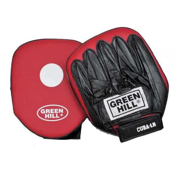 Лапы боксерские CUBA (малая) х 2 шт для прямых ударов верх кожа остальное кожзаменитель 1