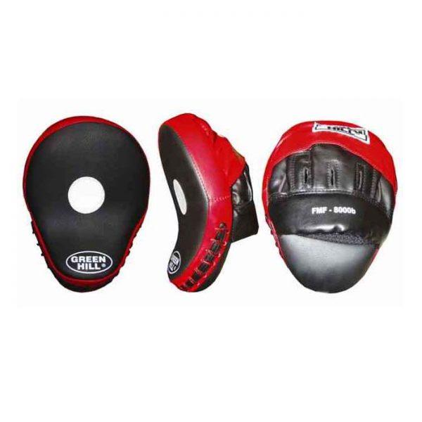 Лапа боксерская изогнутые для наработки точности и скорости удара кожзаменитель анатомическая форма 1