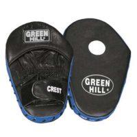 Лапы бокс.CREST х 2 шт для отработки прямых ударов верх и купе для кисти из натуральной кожи