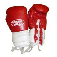 Перчатки боксерские тренировочные PRO STAR, верх из натуральной кожи