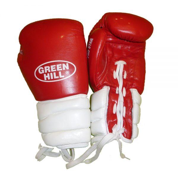 Перчатки боксерские тренировочные PRO STAR, верх из натуральной кожи 1