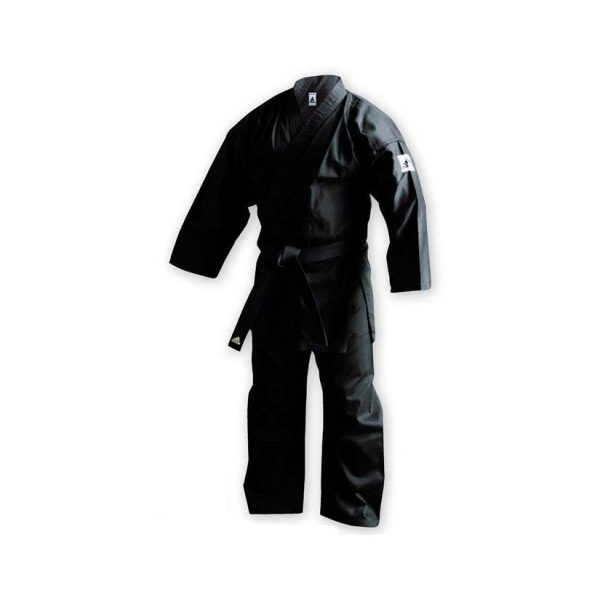 Кимоно для карате Club с лого WKF черное 1