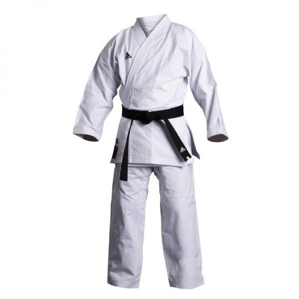 Кимоно для карате Elite European cut из 100% хлопка высшего качества брюки на кулиске 1