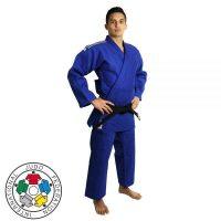 кимоно дзюдо IJF Adidas синее