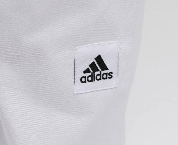 Кимоно для дзюдо Adidas Training белое, усилено в областях с высокой нагрузкой 2
