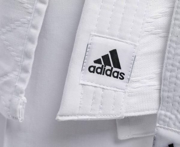 Кимоно для дзюдо Adidas Training белое, усилено в областях с высокой нагрузкой 3