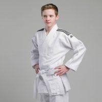 Кимоно для дзюдо Training белое усиленные места в областях с высокой нагрузкой