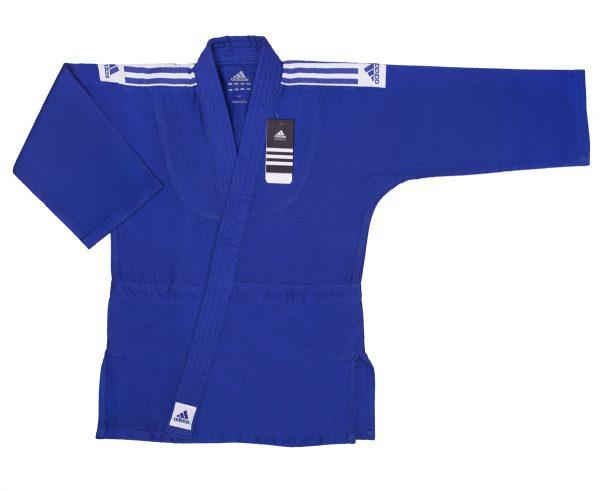 Кимоно для дзюдо Адидас Training синее, усилено в областях с высокой нагрузкой 500 грамм 2