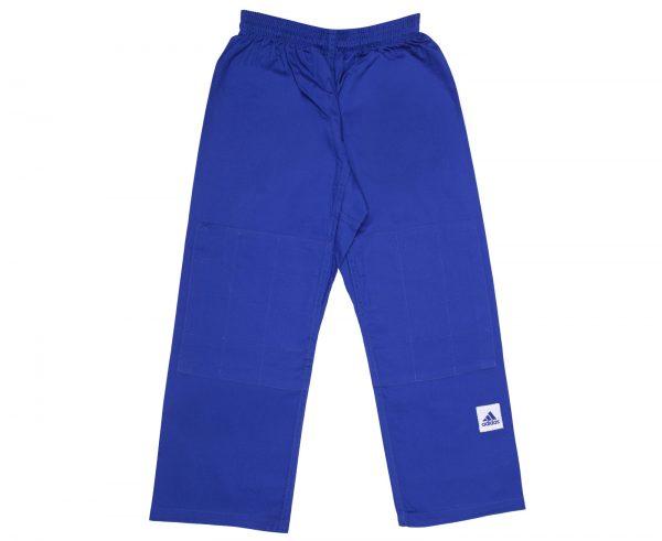 Кимоно для дзюдо Адидас Training синее, усилено в областях с высокой нагрузкой 500 грамм 3