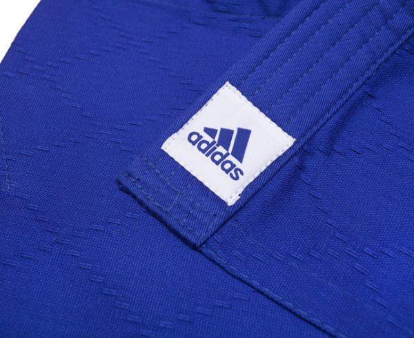 Кимоно для дзюдо Адидас Training синее, усилено в областях с высокой нагрузкой 500 грамм 5