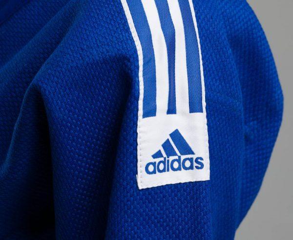 Кимоно для дзюдо Адидас Training синее, усилено в областях с высокой нагрузкой 500 грамм 7