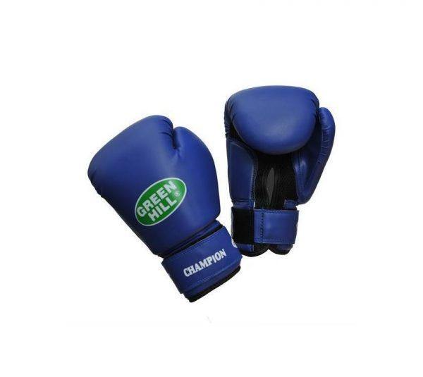 Перчатки боксерские универсальные CHAMPION Green Hill 10-12 унций