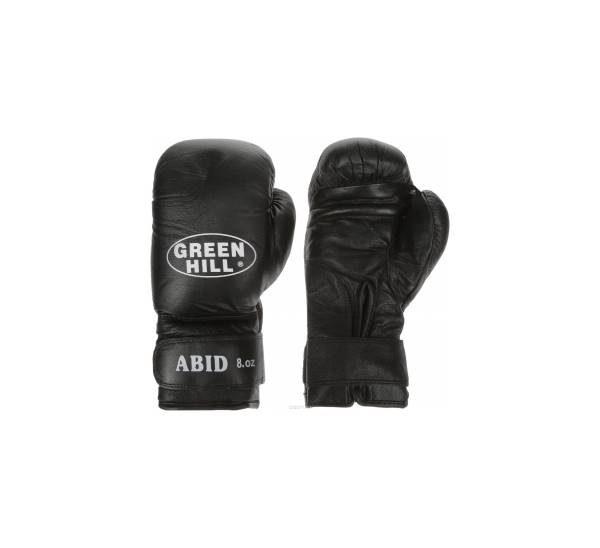 abid перчатки боксерские Грин Хилл наполнитель очес мягкие черные