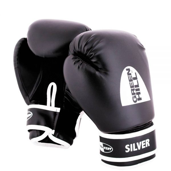 боксерские перчатки Silver Green Hill