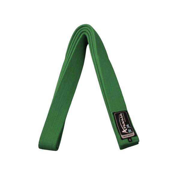 Пояс каратэ для кумите Arawaza зеленый хлопок одобрено WKF 1