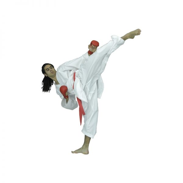 Кимоно каратэ для спаррингов Arawaza Onyx 100% хлопок обработка анти-бактериальным составом вес 8 унций одобрено WKF 1