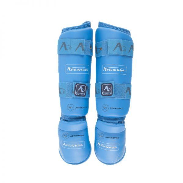 Защита голени и стопы Arawaza антискользящее покрытие, двойной шов, усиленные резинки 1