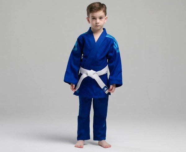 форма дзюдо адидас синяя 8
