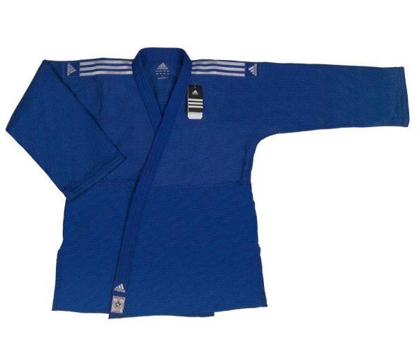 кимоно дзюдо IJF Adidas синее 1