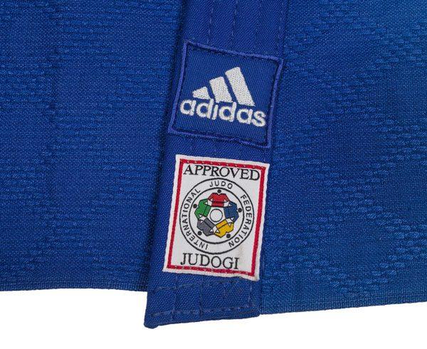 кимоно дзюдо IJF Adidas синее 2