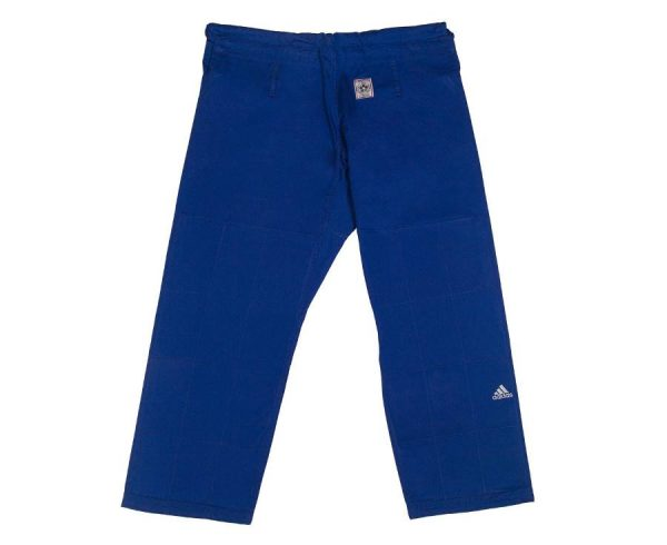 кимоно дзюдо IJF Adidas синее 5