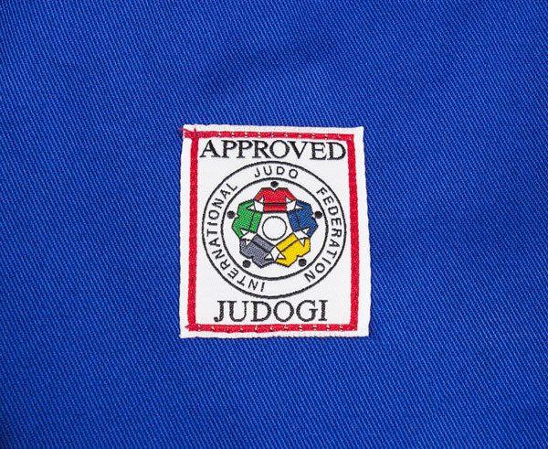 кимоно дзюдо IJF Adidas синее 6