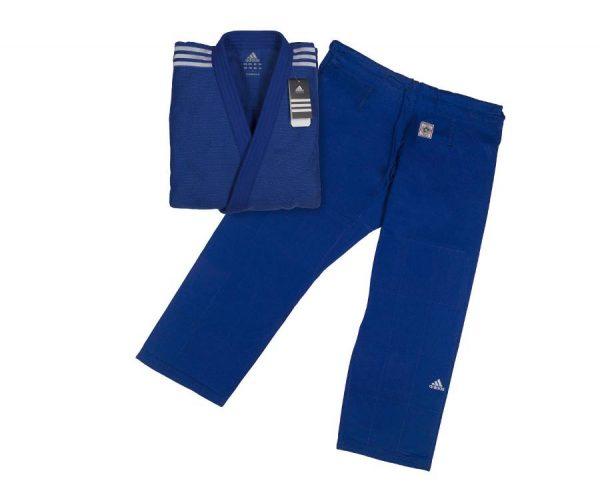 кимоно дзюдо IJF Adidas синее 7
