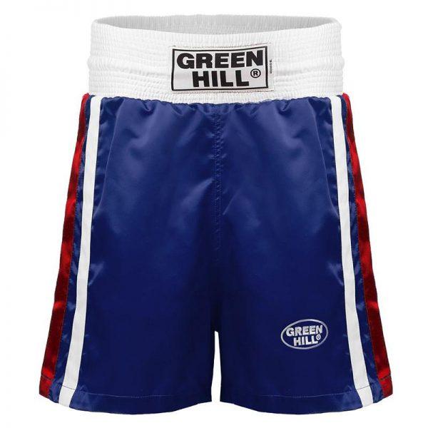 Трусы боксерские Green Hill Olympic, рисунок флаг России