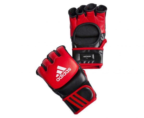 Перчатки боевые Adidas Ultimate Fight Gloves из натуральной воловьей кожи (одобрены UFC)