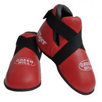 Футы для кикбоксинга и каратэ TIGER (Kik-Boxing), натуральная кожа