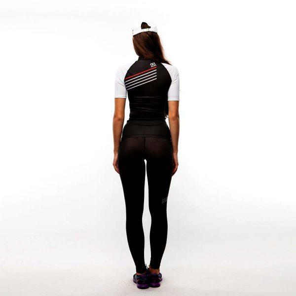 Рашгард футболка женская Микс, Polyester 85%, Elastan 15% 1