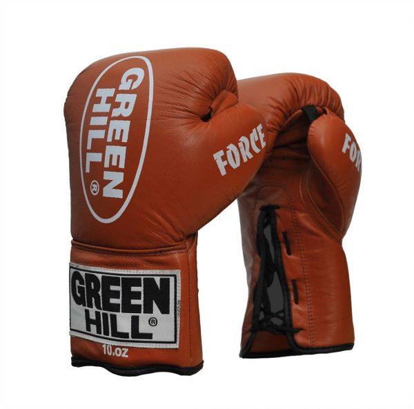 профессиональные боксерские перчатки FORCE Грин Хилл 1