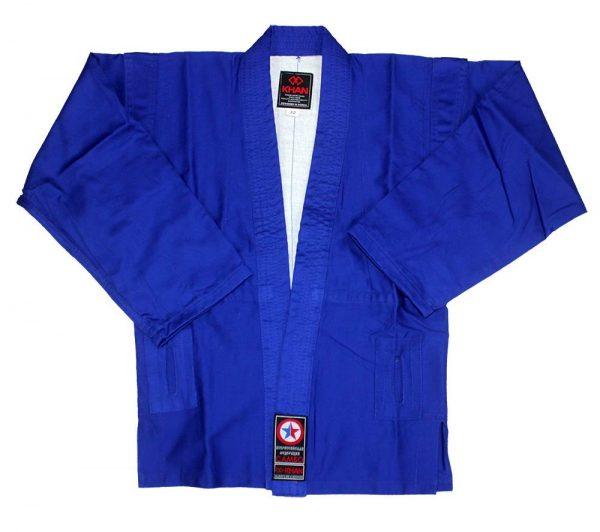 самбо кимоно синее